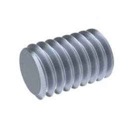 Inconel Alloy Flat Point Socket Set Screw